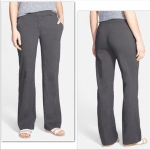 Eileen Fisher Graphite Gray Casual Trouser Pants